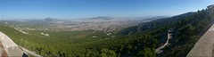 Cityscape Panorama from Parnitha Mountain, Athens, Greece (SpirosK photography) Tags: athens greece   mobilephone cameraphone xperiaz3 panorama parnitha mountain cityscape green forest