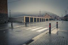 In A Twin Peaks Mood... (Gilderic Photography) Tags: belgium belgique belgie gracehollogne liege street rue city ville mist fog rain mystery brumeux canon g7x gilderic