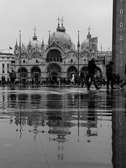 P1020805 (guidomoroni) Tags: venice venezia biennale water canal rome roma sanpietro cupola vatican navona