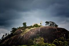 Pedra do Santuário (Billy W Martins ) Tags: santuário pedrabela sãopaulo interior rural countryside nikon d7100 rock rocha pedra church igreja clouds nuvens