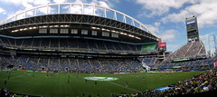 Warm Up (Worthing Wanderer) Tags: seattle sounders football soccer centurylinkfield seattlesounders usa sunny summer july mls