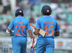 India vs New Zealand: Hosts sport jerseys with their mother's names to promote gender equality (akashdas5) Tags: vertical visakhapatnam india