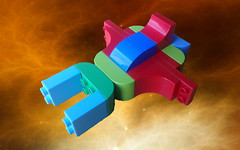 Duplo Viper (David Roberts 01341) Tags: duplo lego spaceship vicviper novvember space scifi
