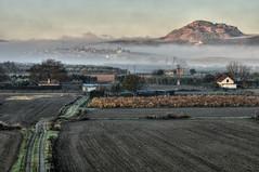 Amanece en la Vega (Aristides Daz) Tags: paisaje amanecer campo vega de granada alhendn montevive