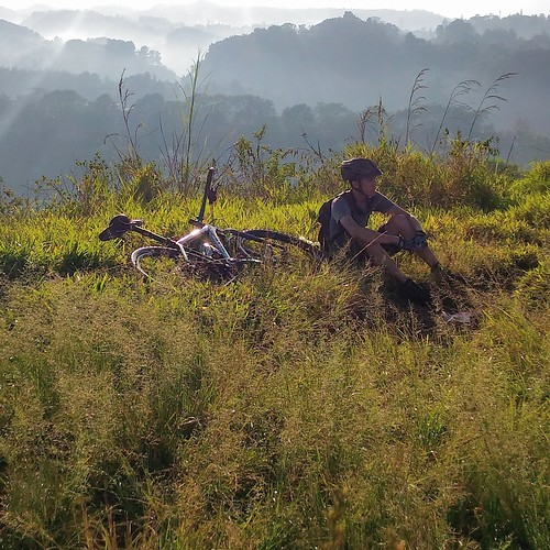 Taking a Rest on a Small Hill Near Punclut