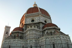 florence afternoon duomo (kexi) Tags: florence firenze florencja italy europe toscany tuscany architecture masterpiece afternoon dome old ancient church samsung wb690 october 2015 sky blue duomo basilica cathedral instantfave