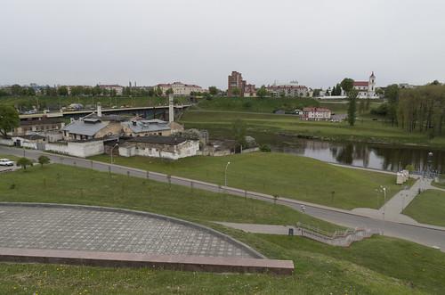 View over Neman River, 03.05.2014.