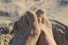 Feet. (Ftima Glez.) Tags: spain coast beach conil andalucia feet