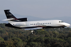 Z) Socrates Projects (Abelag Aviation) Falcon 900EX OO-SCR GRO 03/12/2016 (jordi757) Tags: airplanes avions nikon d300 gro lege girona costabrava dassault falcon falcon900 abelagaviation socratesprojects ooscr