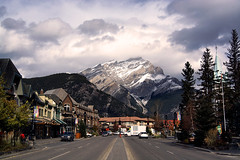 Getting the Point Across (gwendolyn.allsop) Tags: banff street avenue cascade mountain town houses view d5200 canada