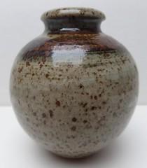 STUDIO POTTERY VASE (Marcusborra) Tags: art studio design pottery earthenware tenmoku