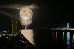 Fireworks at Mihara city (Hideyuki.G) Tags: japan hiroshima mihara