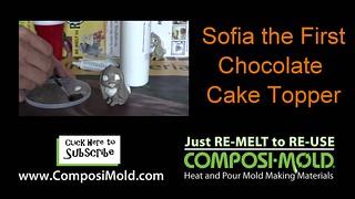 Make Sofia the First  Disney Chocolate Cake Toppers (Clover)