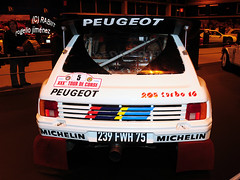 PEUGEOT 205 T16 Evo II (Grupo B Rally) (RABIIT) Tags: 911 turbo porsche f40 f50 959 ferrarif50 ferrarif40 rabiit 993turbo deltas4 205turbo16 rogeliojimenez madridmotordays