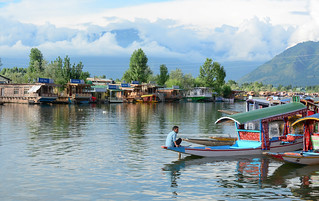 Lifestyle in Dal lake, Srinagar