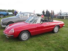 Alfa Romeo Spider (nakhon100) Tags: red cars spider 2000 cab alfa romeo cabrio cabriolet
