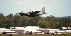 C-130H Hercules (Dulacca.trains) Tags: queensland airforce raaf hercules ipswich fatalbert amberley c130h trashhauler 36sqn herkybird 36squadron