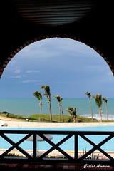 Praia das Fontes vista do Hotel (Carlos Amorim (Camorim10)) Tags: nordeste beberibe brsil cearápraiadasfontes