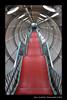 Down Atomium Stairs, Brussels (Marc Funkleder Photography) Tags: red brussels abstract architecture stairs rouge nikon belgium belgique bruxelles 1958 inside atomium intérieur escaliers abstrait d300 surréaliste expo58 heisel