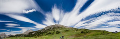 Canadian Sky (MB aus D) Tags: blue sky canada mountains green sunshine loop meadows himmel banff kanada banffnationalpark canadianrockymountains sunshinemeadowsloop