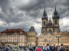 Prague Plaza (1mpl) Tags: prague czechrepublic travelphotography photomatixpro hdrphotography olympusomdem1 pragueplaza