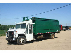 '88 IHC Labrie (Scott (tm242)) Tags: trash dumpster truck garbage side debris rear disposal front bin collection rubbish trucks fl waste refuse recycle loader removal recycling load hopper collect packer rl haul asl msl