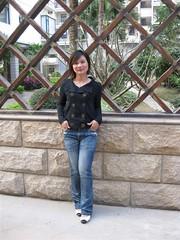 Jie (Asian.Amour2) Tags: china woman cute sexy girl beautiful smile lady asian happy hongkong asia pretty sweet gorgeous chinese beijing cutie prc brunette oriental classy