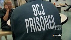 0169 (UJB88) Tags: woman green uniform cell prison jail arrested jumpsuit institution correctional restrained