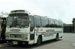 B6873D SR 3052 HBP333X-SJA409K Salisbury 21 May 83 (Dave58282) Tags: bus 3052 hantsdorset shamrockrambler sja409k hbp333x