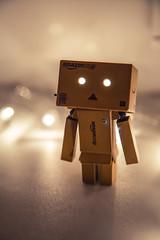 (Katherine Ilicheva) Tags: winter light window lamp canon toy toys eos lights amazon mark iii garland souvenir 5d wintertime windowsill candlestick danbo amazoncojp winter2015
