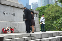 Img557692nx2 (veryamateurish) Tags: singapore remembranceday armisticeday wreathlaying cenotaph padang connaughtdrive singaporecricketclub