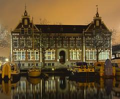 Vlaardingen Westhavenkade (Theo Bauhuis) Tags: city haven holland night rotterdam nightshot nacht harbour nederland hdr stad vlaardingen