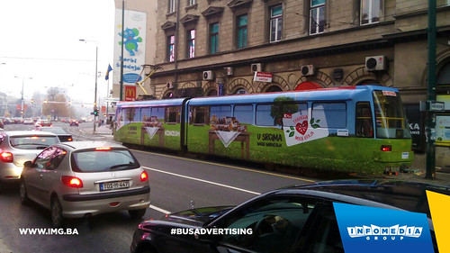 Info Media Group - Konzum, BUS Outdoor Advertising, Sarajevo 10-2015 (1)