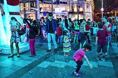 Snowfall (chooyutshing) Tags: singapore walkway snowfall attractions orchardroad lightedup orchardgateway christmas2015festival iciclexmas