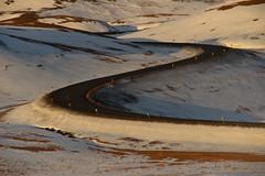 hverarönd iceland (srouve78) Tags: route road neige ice virage iceland islande