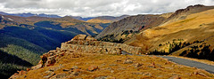 TRAIL RIDGE ROAD OVERLOOK (Wolf Creek Carl) Tags: mountains nature weather clouds landscape rockies outdoors nationalpark colorado rockymountain peaks overlook rockymountainnationalpark trailridgeroad