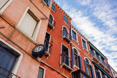 Venice (JN) Tags: venice italy color clock architecture buildings nikon italia angle vibrant wide perspective historic 1735mmf28d venezia 1735mm d700