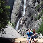 "Megan and Jordan at Lower Yosemite Falls <a style=""margin-left:10px; font-size:0.8em;"" href=""http://www.flickr.com/photos/14315427@N00/23544891266/"" target=""_blank"">@flickr</a>"