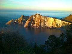 Playa del Silencio (blanca.defrancisco) Tags: sunset beach spain asturias playadelsilencio