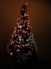 Christmas Tree (Figgles1) Tags: christmas xmas light tree lights christmastree fiber iphone optic fibreoptic 2015 img9881