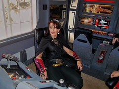 Love a Woman in Leather! (stevenighteagle) Tags: startrek starfleet trekkies scifi fandom guffey colorado tos tng voy ds9 ent klingon