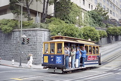 1998-07 San Francisco Cable Car Nr.16 (beranekp) Tags: usa california san francisco muni cable tramvaj tramway tram tranvia strassenbahn alina elektrika elektrika 16