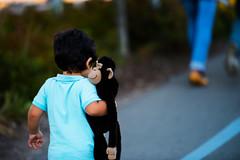 Friends (Johan Gustavsson) Tags: friends stockholm monkey apa boy pojke child kid cute
