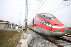 Linea AV-AC Treviglio - Brescia-viaggio di prova (Ferrovie dello Stato Italiane) Tags: rfi trenitalia treno av linea altavelocit treviglio brescia viaggio prova trasporti infrastrutture