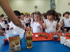 Banana cupcake (colgiopiracicabano) Tags: cupcake colegiopiracicabano piracicaba crianas culinria school kids culinary cute