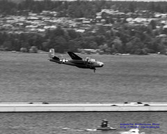 .@FlyingHeritage B-25J Low-Flying Seafair Sunday 2016 (AvgeekJoe) Tags: bw b25 b25mitchell b25j b25jmitchell blackwhite blackandwhite buster d5300 dslr fhc fhcnorthamericanb25jmitchell flyingheritagecollection lakewashington nikon nikond5300 northamericanb25 northamericanb25mitchell northamericanb25j northamericanb25jmitchell other places warbirds aircraft airplane plane propblur radial radialengine soundofround warbird warplane seattle washington unitedstates us