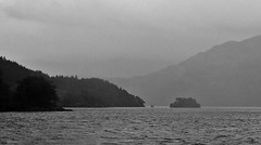 Loch Lomond (brightondj - getting the most from a cheap compact) Tags: scotland lochlomond trossachs loch bw landscape water summer2016 holiday summerholiday uk britain ukholiday
