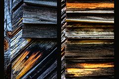 Siding (Maggggie) Tags: 52in2016 siding walls old building wood texture