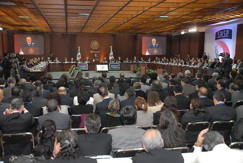 El gobernador Javier Duarte de Ochoa asistió a la XXX Sesión del Consejo Nacional de Seguridad Pública 9
