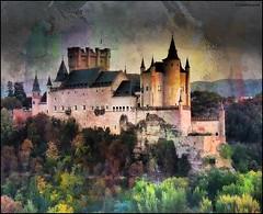 (2386) Alcázar de Segovia (Spain) (QuimG) Tags: alcázardesegovia segovia spain castillo palacio landscape paisaje paisatge retoc retoque retouch textures olympus quimg quimgranell joaquimgranell afcastelló specialtouch obresdart